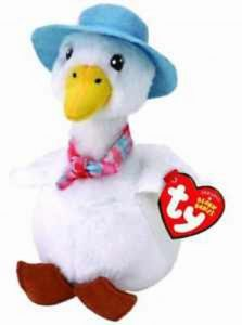 Ty Beanies Beanie Baby Jemima Puddle Duck
