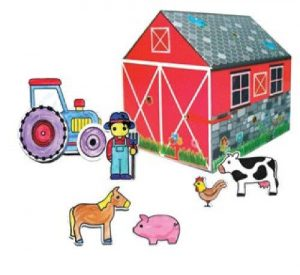 Meadow Kids Decorate Your Own Farmhouse