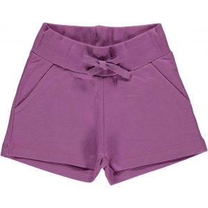 Maxomorra Basic Light Purple Sweatshorts