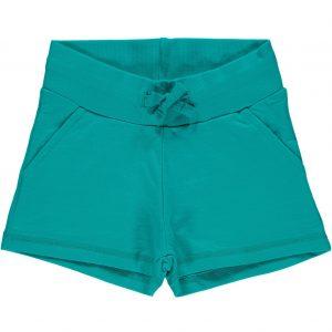 Maxomorra Basic Turquoise Sweatshorts