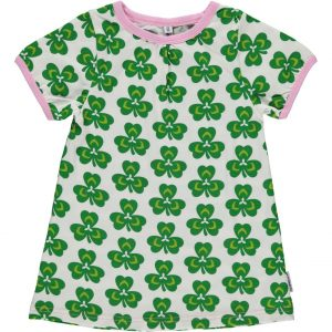 Maxomorra Clover Short Sleeve A Line Top