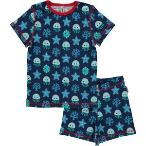 Maxomorra Deep Sea Short  Pyjamas