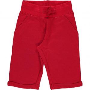 Sweatshorts Knee RED 86/92