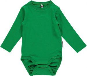 Maxomorra Basic Green Long Sleeve Body