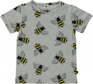 Smafolk Grey Bee Short Sleeve Tee Shirt