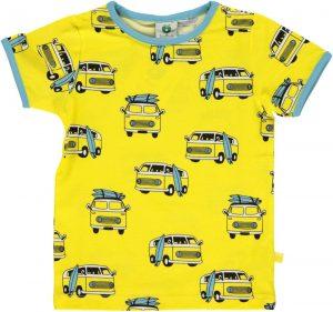 Smafolk Maize Yellow Surf Car T Shirt