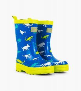 Hatley Blue Dinosaur Menagerie Colour Change Rainboots