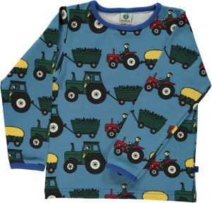 Smafolf Cendre Blue Tractor Top AW18