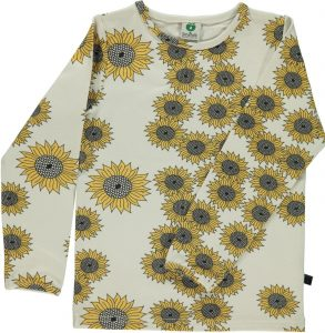 Smafolk Cream Sunflower Top