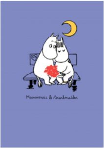 Hype Associates Moomintroll and Snorkmaiden Card