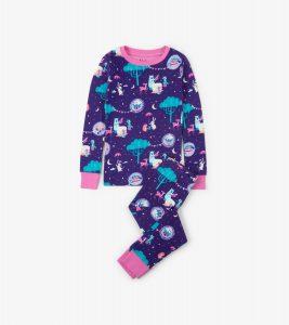 Hatley Enchanted Tea Party Organic Cotton Pyjamas