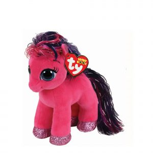 Ty Beanie Boo Ruby the Bright Pink Pony