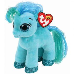 Ty Beanie Boos Topaz the Turquoise Pony