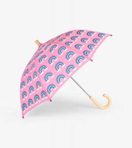 Hatley Pink Pretty Rainbows Umbrella