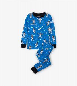 Hatley Athletic Astronauts Glow Organic Cotton Pyjamas