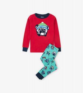 Hatley Cosy Pups Organic Cotton Pyjamas