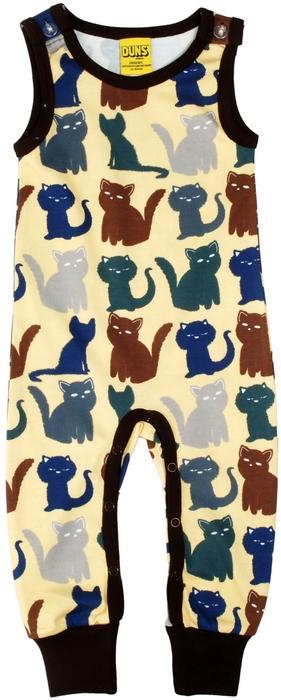 a67c8c094e Duns of Sweden Lemon Cats Dungarees - Catfish Kids