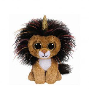 Ty Beanie Boo Ramsey The Unicorn Lion