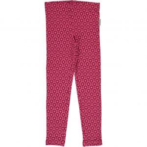 AW18 Maxomorra Mono Print Pink Flower Leggings