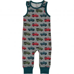 AW18 Maxomorra Truck Print Playsuit