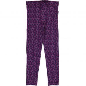 AW18 Maxomorra Purple Tree Mono Print Leggings