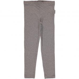 AW18 Maxomorra Light Grey Melange Basic Leggings