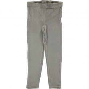 AW18 Maxomorra Light Grey Melange Velour Leggings