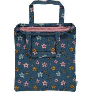 da3659fa38 Maxomorra Blue Night Sparkle Print Organic Cotton Bag