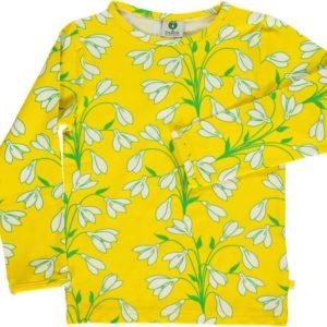 Smafolk Yellow Snowdrop Long Sleeve Top