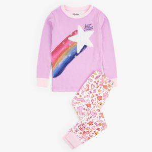 Hatley Unicorn Doodles Applique Organic Cotton Pyjamas