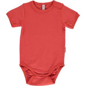 SS19 Maxomorra Rusty Red Short Sleeve Body