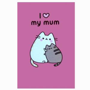 Hype Associates Pusheen I Love My Mum Card