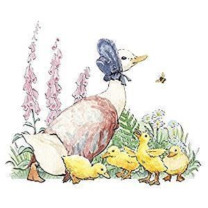 Hype Associates Beatrix Potter Jemima Puddleduck Card