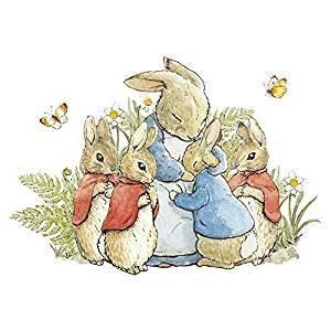 Hype Associates Beatrix Potter Bunnies Card