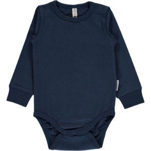 f82b6240 AW18 maxomorra Dark Blue Long Sleeve Body
