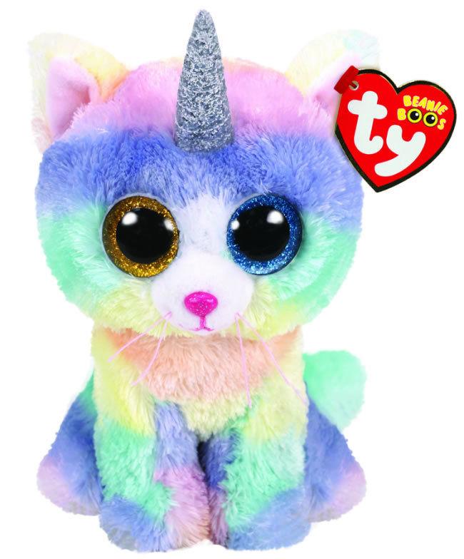 3b851ee2a3 Ty Beanie Boo Heather the Unicorn Cat - Catfish Kids