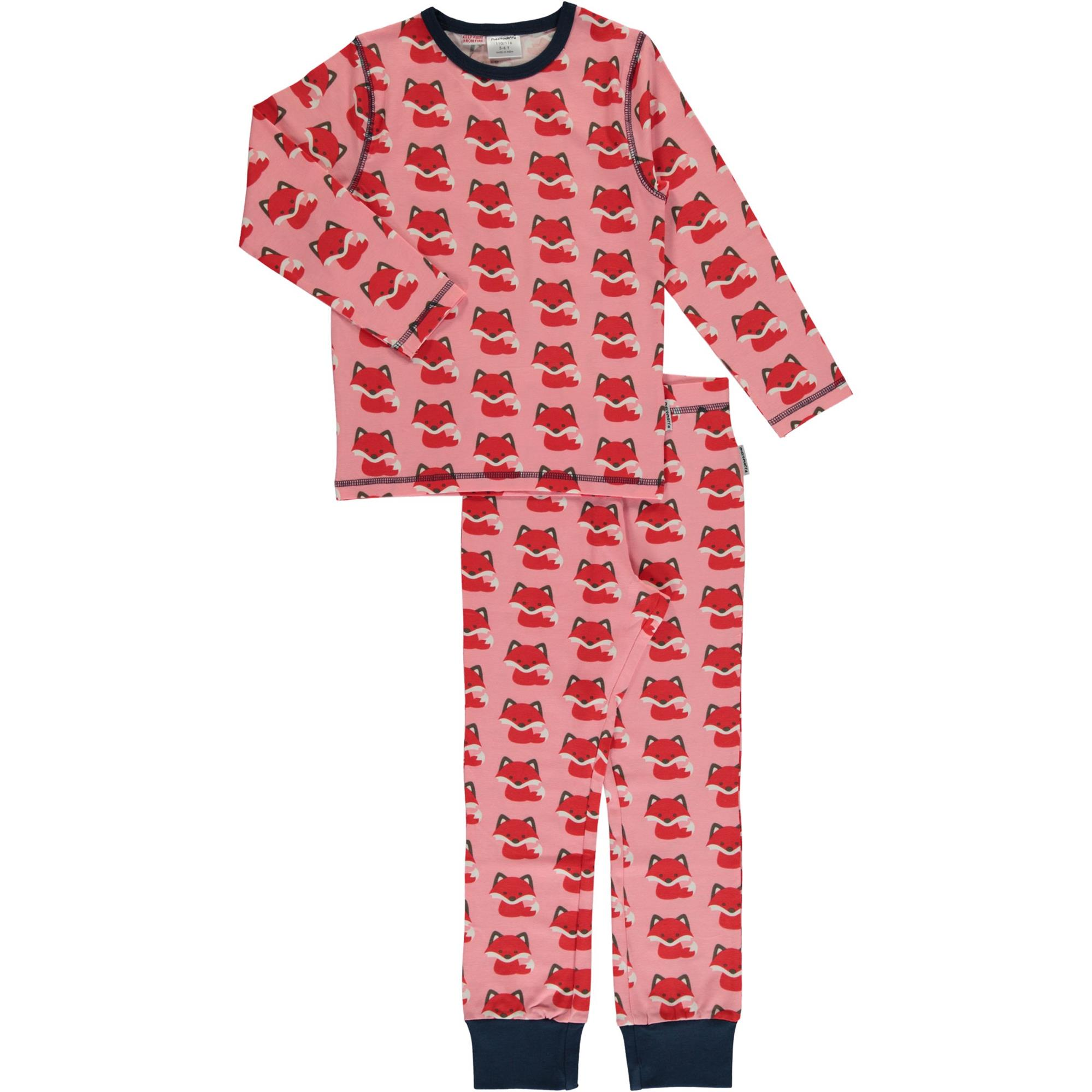 Baby & Toddler Clothing Hatley Fair Isle Fawn Organic Cotton Baby Pyjamas Girls' Clothing (newborn-5t)