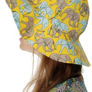Duns of Sweden Yellow Elephant Walk Sunhat