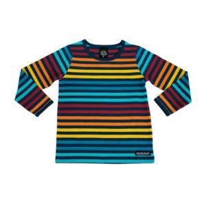 Villervalla Marina Multi Stripe Long Sleeve Top