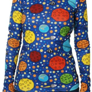 Duns of Sweden Navy Lost In Space ADULTS Long Sleeve Top