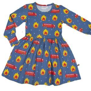 Moromini Heroes Print Spin Dress