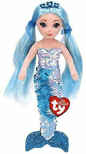Ty Flippable Indigo Anna the Mermaid 15cm