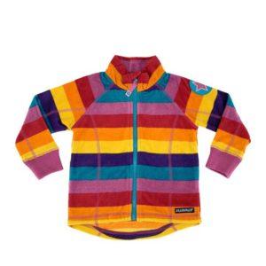 Villervalla Valley Stripe Fleece Jacket