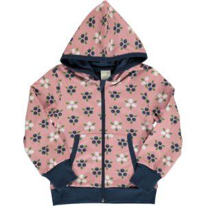 Aw19 Maxomorra Blueberry Blossom Hooded Cardigan