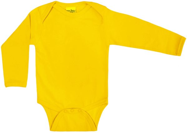 More Than A Fling Yellow Long Sleeve Body