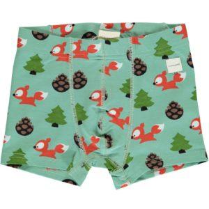 AW19 Maxomorra Busy Squirrel Boxer Shorts