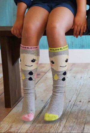 Blade and Rose Cloud Knee Socks