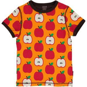 AW19 Maxomorra Classic Apple Short Sleeve Top